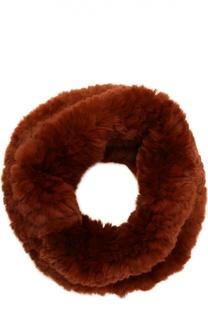 Шарф-хомут из меха кролика Yves Salomon