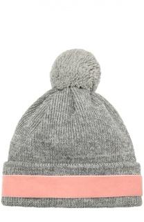 Шерстяная шапка с декоративной отделкой 7II