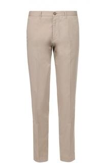 Хлопковые брюки чинос BOSS