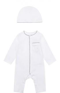 Комплект из пижамы и шапки Burberry