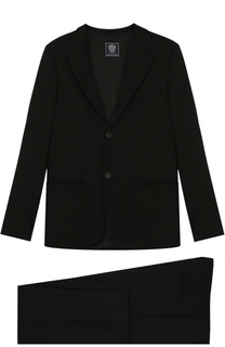 Шерстяной костюм с пиджаком на двух пуговицах Dal Lago
