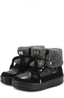 Комбинированные ботинки на шнуровке Jog Dog