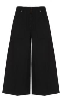 Укороченные широкие джинсы с завышенной талией Marc Jacobs