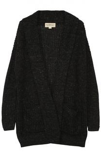 Удлиненный кардиган фактурной вязки Denim&Supply by Ralph Lauren