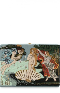 Клатч Botticelli с вышивкой Olympia Le-Tan