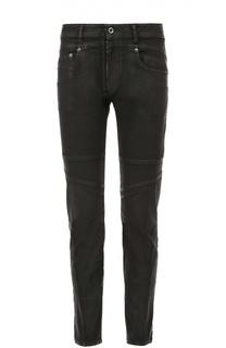 Зауженные джинсы с декоративной отделкой Diesel