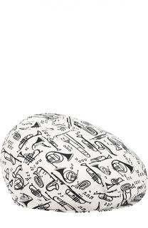 Хлопковое кепи с принтом Dolce & Gabbana