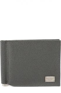 Кожаное портмоне с отделением для кредитных карт Dolce & Gabbana