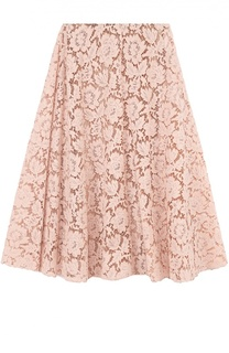 Кружевная расклешенная юбка-миди Valentino