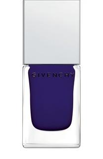 Лак для ногтей Le Vernis, оттенок №30 Героический голубой Givenchy