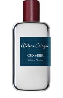 Парфюмерная вода Oud Saphir Atelier Cologne