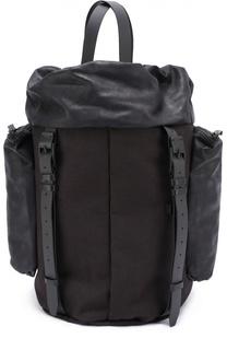 Текстильный рюкзак Saar с отделкой из натуральной кожи Cote&Ciel Cote&Ciel