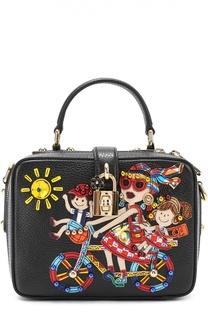 Сумка Dolce Soft с аппликацией DG Family Dolce & Gabbana