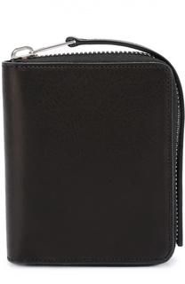 Кожаное портмоне на молнии с отделением для монет и кредитных карт Rick Owens