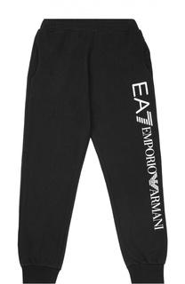 Спортивные брюки с логотипом бренда Ea 7