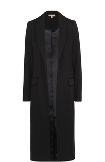 Пальто прямого кроя с широкими лацканами Michael Kors