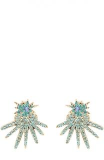 Серьги Celestial Star с кристаллами Swarovski Oscar de la Renta