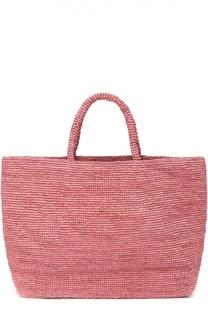 Плетеная сумка Walata из рафии Sans-Arcidet