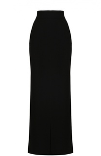 Юбка-макси с подолом и высоким разрезом Escada