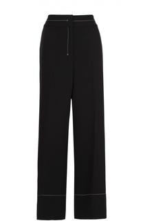 Широкие брюки с контрастной прострочкой и лампасами By Malene Birger