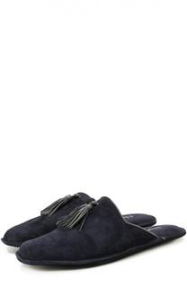 Домашние замшевые туфли с кисточками Homers At Home