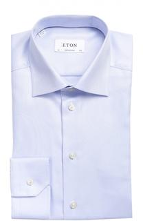 Хлопковая сорочка с воротником акула Eton