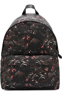 Текстильный рюкзак с принтом Givenchy
