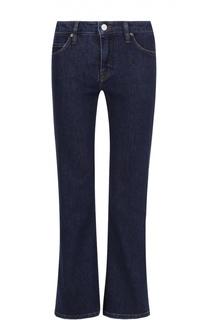 Укороченные расклешенные джинсы Victoria by Victoria Beckham
