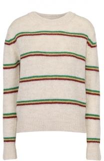 Пуловер прямого кроя в контрастную полоску Isabel Marant Etoile