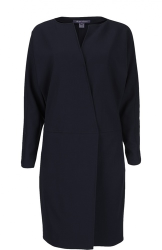 Шерстяное пальто с запахом Ralph Lauren
