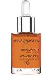 Антивозрастная сыворотка для лица, области шеи и декольте Anne Semonin