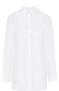 Блуза с необработанным краем и накладными карманами на спинке Mm6