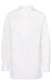Блуза прямого кроя с воротником-стойкой Atlantique Ascoli