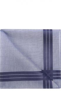 Хлопковый платок в клетку Simonnot-Godard