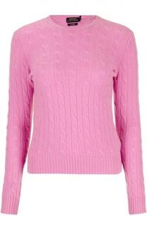Кашемировый пуловер с круглым вырезом Polo Ralph Lauren