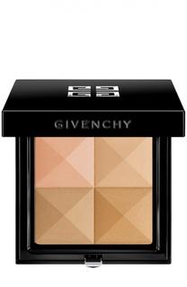Пудра компактная Le Prisme Visage, оттенок 5 Soie Abricot Givenchy