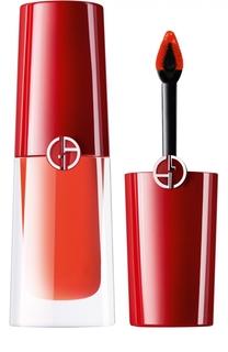 Стойкий матовый блеск для губ Lip Magnet, оттенок 300 Giorgio Armani
