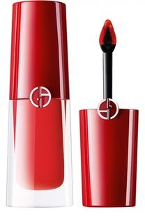 Стойкий матовый блеск для губ Lip Magnet, оттенок 301 Giorgio Armani