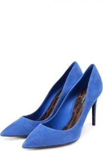 Замшевые туфли Kate на шпильке Dolce & Gabbana