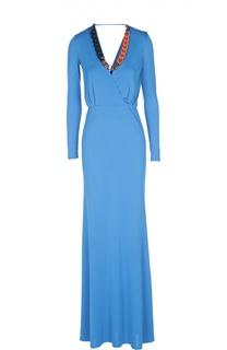 Вечернее платье с колье Emilio Pucci