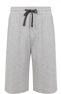 Хлопковые шорты с заниженной линией шага James Perse