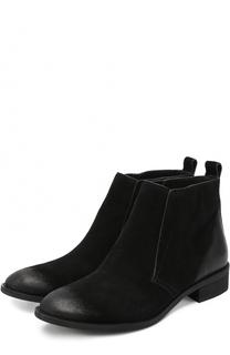 Замшевые ботинки Riley с потертостями MICHAEL Michael Kors