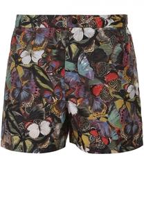 Плавки-шорты с принтом и карманами Valentino