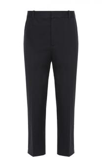 Хлопковые брюки прямого кроя с заниженной линией шага 3.1 Phillip Lim