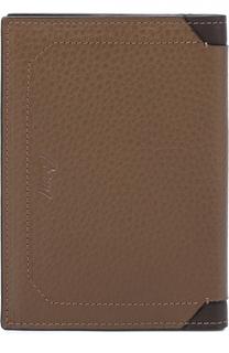 Кожаная обложка для паспорта с отделениями для кредитных карт Brioni