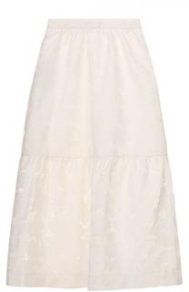 Кружевная юбка-миди Mother Of Pearl