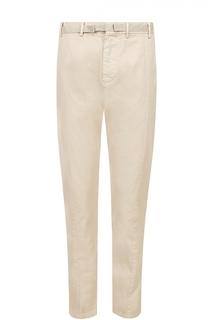 Хлопковые брюки чинос No. 21