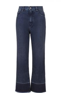 Укороченные расклешенные джинсы с бахромой Rachel Comey