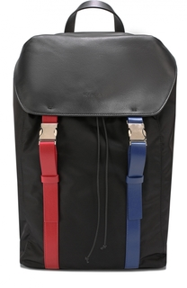 Текстильный рюкзак с отделкой из натуральной кожи Iceberg