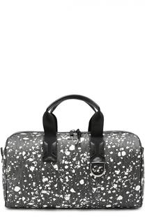 Спортивная сумка с принтом Speckle и отделкой из натуральной кожи Dior